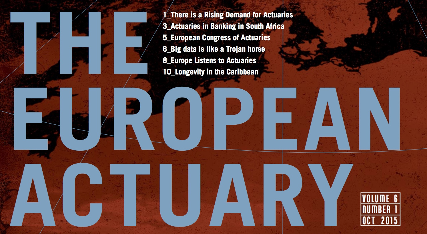 The European Actuary - Vol.6 Nr.1