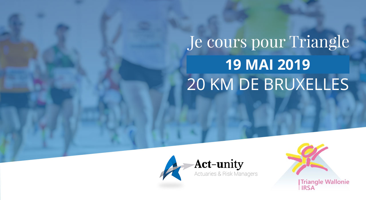 Act-unity runs for Triangle Wallonie