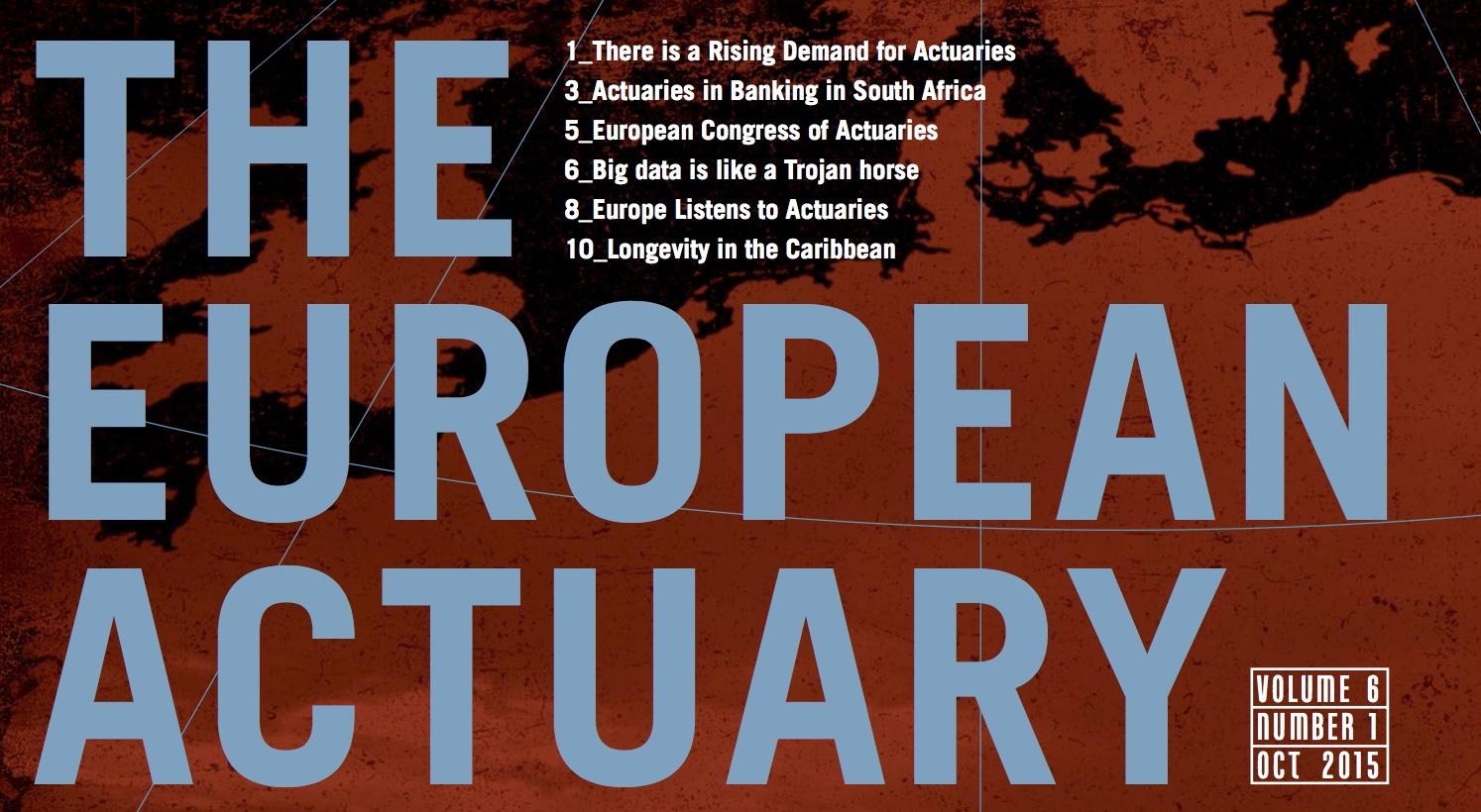 The European Actuary - Vol.6 Nr.1