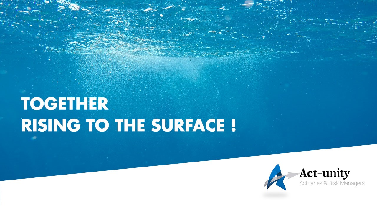 Together rising to the surface !