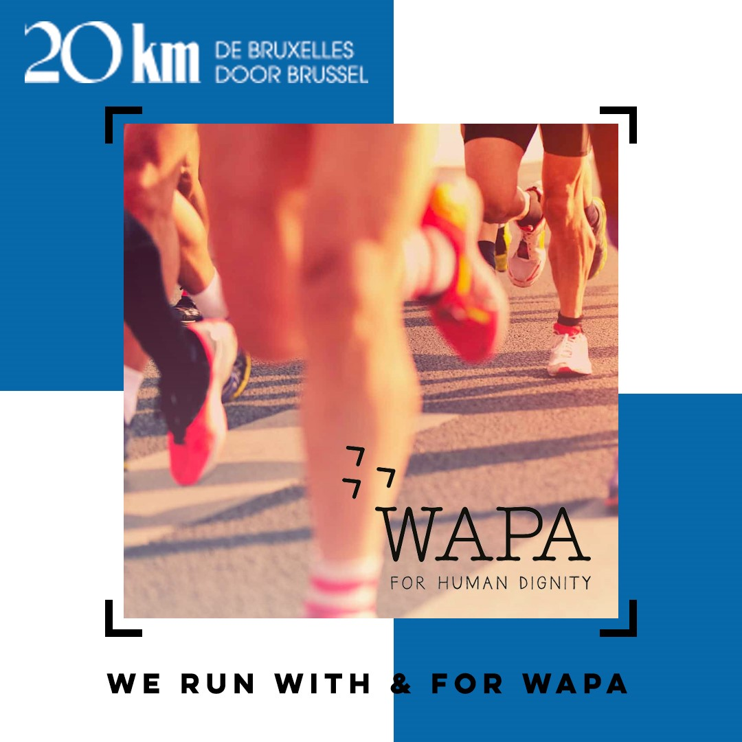 Act-unity runs with & for WAPA International @ 20km of Brussels