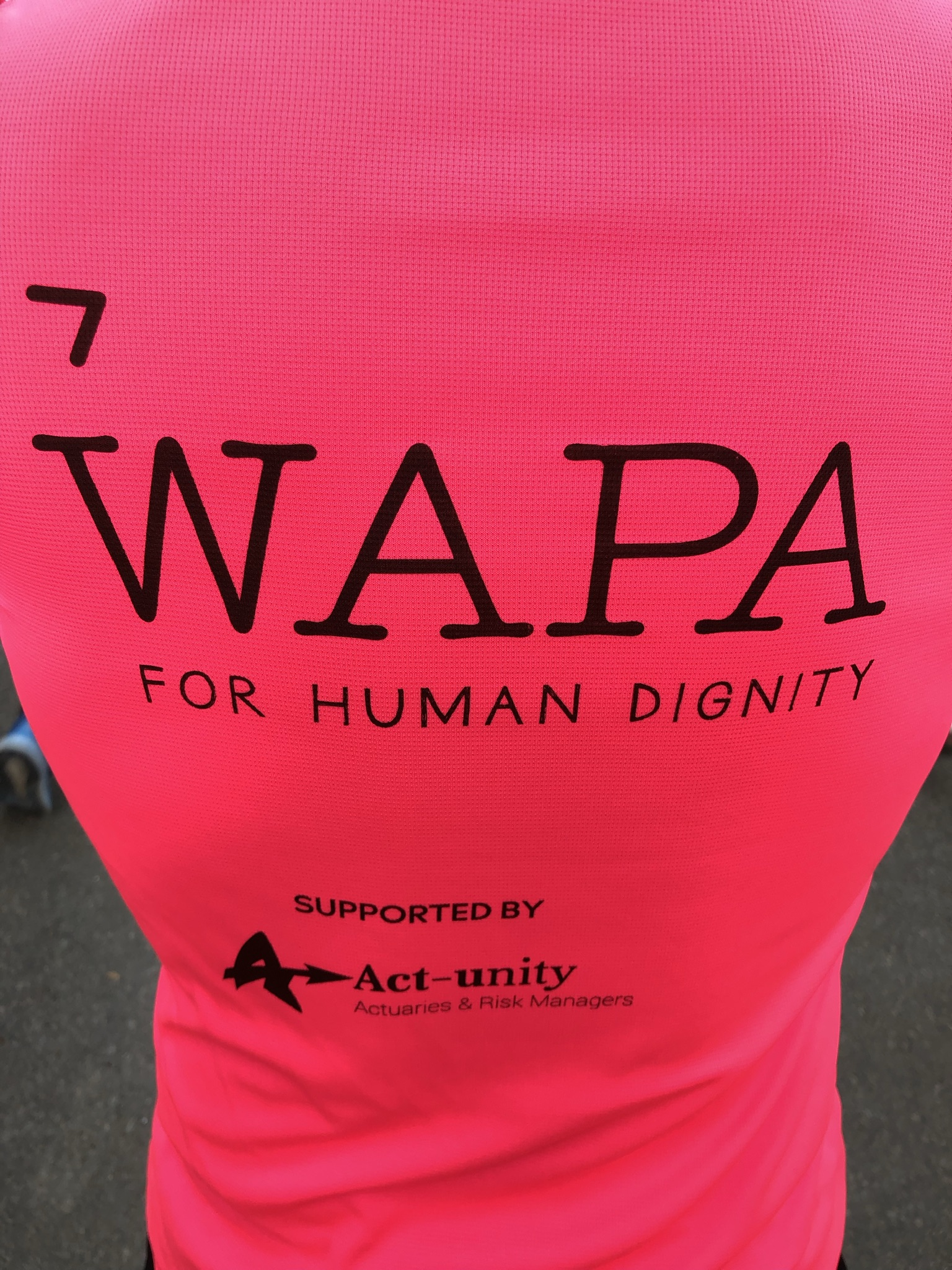 20km of Brussels with & for WAPA International